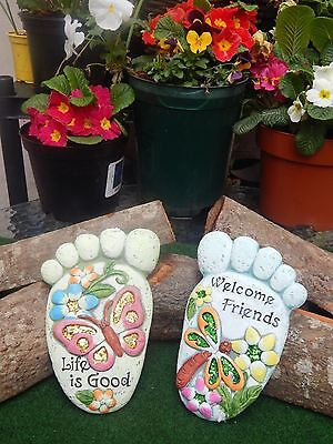 Stepping Stone Feet - Two  Assorted Designs