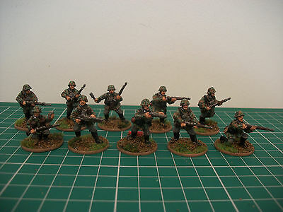 Painted 28mm bolt action ww2 German Waffen SS early war section Miniatures