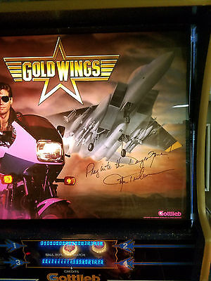 Gottlieb Gold Wings Pinball Machine