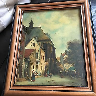 Early 20th Century Oil Painting on board
