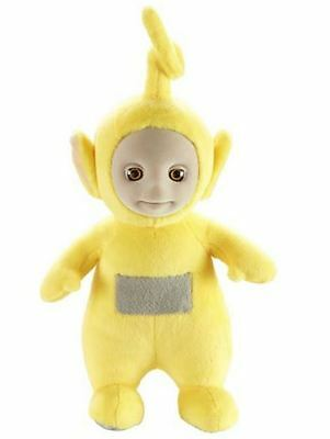 TELETUBBIES - Laa Laa talking yellow plush soft toy character NEW