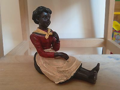 Antique/Vintage African Women Maid figurine