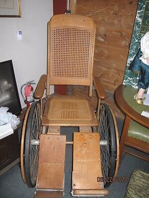 early colson Vintage, antique.?  nursing wheelchair