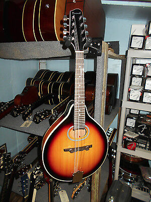 Savannah SA-110 Oval Hole A-Model Mandolin, Sunburst
