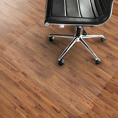 Etm PVC Chair Mat, Hard Floor Protection - 75x120cm (2.5'x4') | Multiple Sizes