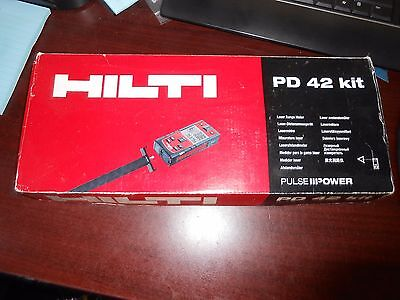 HILTI PD42 PD 42 Laser Preowned Wireless Range Distance Meter Measuring Tool