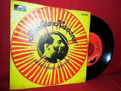 RICHIE HAVENS Here Comes The Sun / Some Will Wait 7/45 PORTUGAL RARE PS NMINT