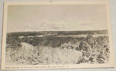 North Channel , Manitoulin Island Ontario postcard
