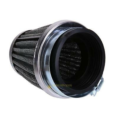 Motorcycle Cold Air Intake Cone Filter Cleaner Turb Replacement Parts Kit 48mm #