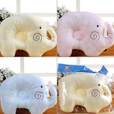 Anti-Roll Newborn Soft  Foam Infant Memory Pillow Prevent Flat Head Support Neck