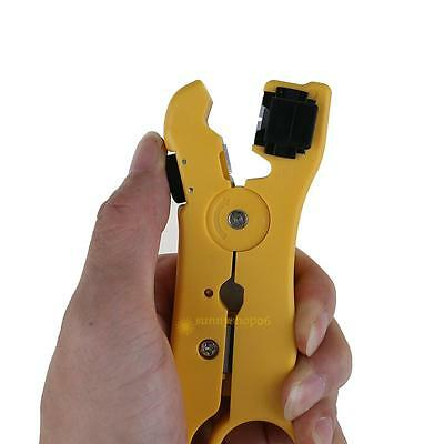 Automatic Multi-function Wire Stripper Crimping Cable Stripping Cutter Hand Tool