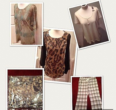 WOMEN'S CLOTHING JOBLOT X 6 Pieces NEW & NWT! RRP Over £25!