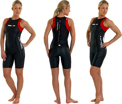 New Aqua Sphere Ironman Wet Speedsuit W/Bag - Womens Medium Large