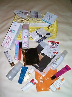 Sephora Beach Bag Filled With Skincare Makeup More!~Great Summer Set/lot