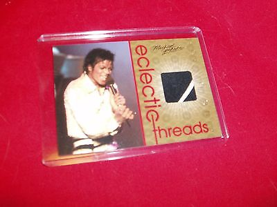 Michael Jackson Panini Relic/Clothing Card Eclectic Threads ET1  NEW Diff Square