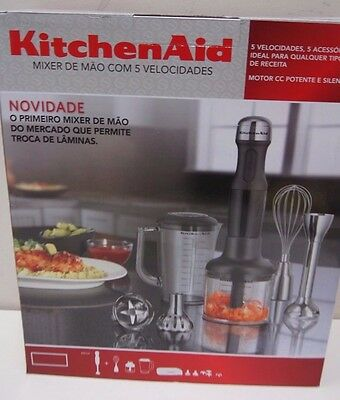 KitchenAid KHB2569AER Artisan Deluxe Hand Blender Empire Red