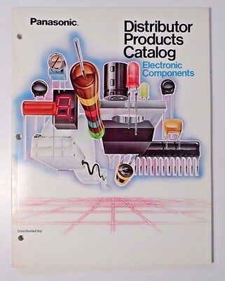 Panasonic Distributor Products Catalog - Electronic Components Transistors/Caps+