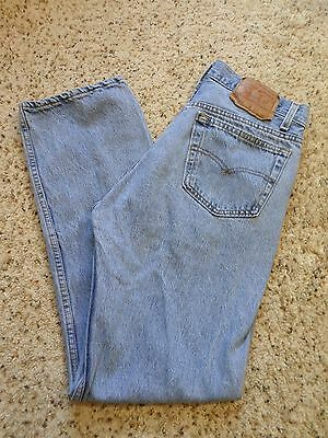 Vintage USA Levi's 501 Button Fly Jeans~33 x 32~Measured 30 x 30 1/2~WPL 423