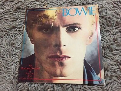 David Bowie : An Illustrated Record by Charles S. Murray & Roy Carr 1981 1st Ed