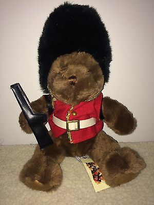 """10"""" Guy The Guardsman   Bear From The Teddy Bear Collection."""