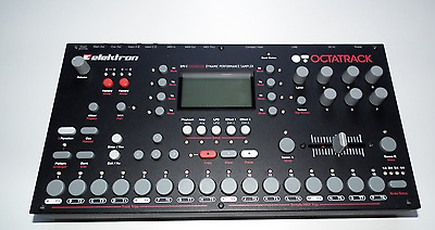 Elektron Octatrack DPS-1 + original box 64GB CF + lots of samples