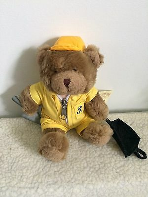 """7"""" Bert The Builder Bear From The Teddy Bear Collection."""