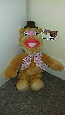 """Disney The Muppets Fozzy Bear 15"""" Soft Toy Brand New"""