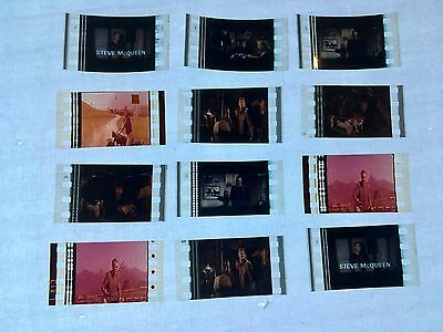 The Great Escape (1963) Movie 35mm Film Cells Film cell filmcell lot unmounted