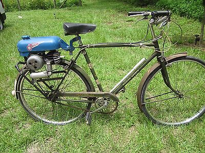 1951 Other Makes Raleigh, Trojan, minimotor  Raleigh with Trojan Minimotor