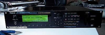Roland JV-2080 Rack Mount Synthesizer Sound Module + Orchestral Expansion