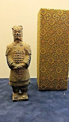"""Chinese Official Terracotta Warrior Army """"the Solider"""" Replica From Xi'an China"""