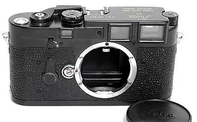 @ Leica M3 DS body black paint - restored, after painted