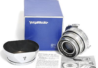 @ Voigtlander 4.5/100mm Dynaron boxed for Prominent II