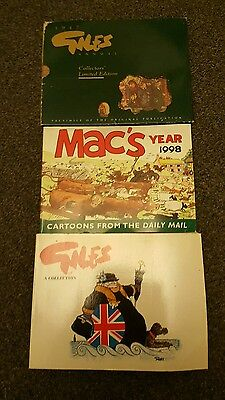 Giles collection annuals 1947 limited edition/ macs year 1998