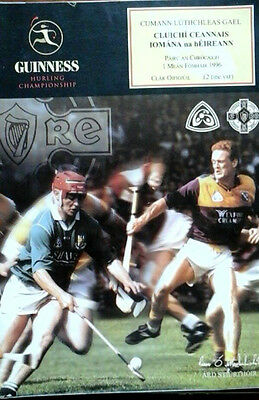 Wexford V Limerick 1/9/1996 Gaa All Ireland Hurling Final