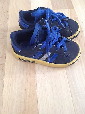 Adidas Trainers Forest Hills Size 4 Baby Boys