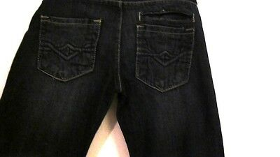 Boys skinny jeans size 6. Embroidered jeans. 12 1/2 across waist, 27' long