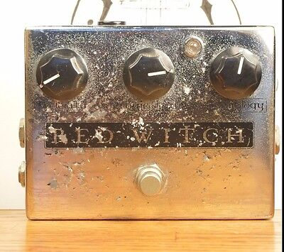 Red Witch Deluxe Moon Phaser Tremolo Guitar Effect Pedal