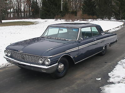 1962 Ford Galaxie stock 1962 Ford Galaxie 500 'G-Code' 405 HP, 406 ci. Rare 1 of 27 known.