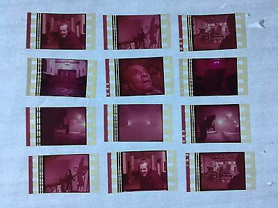 The Shining (1980) Movie 35mm Film Cells Film cell  filmcell horror strips