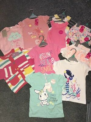 baby girl clothes bundle 1 -1.5 years ( 12 -18 months ) Summer Holiday