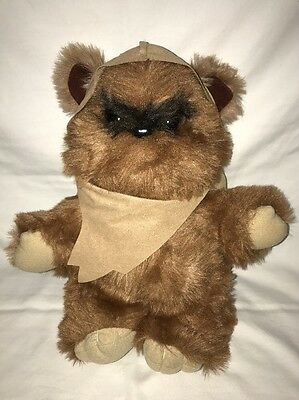 Vintage 80s Star Wars WICKET the EWOK Kenner Plush 1983 w/Original Hood