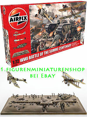 1:76 FIGUREN A50178 Battle of the Somme Centenary Gift Set 1:72 - AIRFIX
