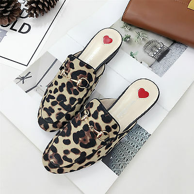 NEW Women Princetown Horsebit Slippers slides Flats Mules Loafers