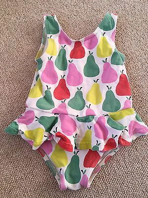 Baby Boden Fruits Pear Apple Swimming Costume 12-18months