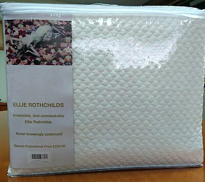 Super King Size Bedspread/ Throw Featured In **elle Decoration** Jacquard Woven