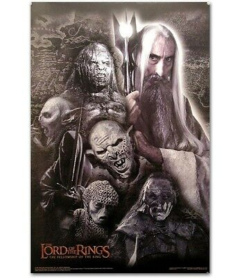 """Lord Of The Rings - Saruman Poster / 24"""" X 36"""" 2001"""