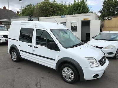 2010 Ford Transit Connect 1.8 Tdci T230 Trend Lwb High Roof Crew Van Ex Police