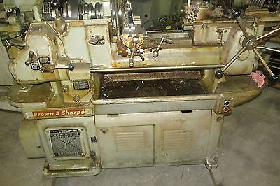 Brown & Sharpe 1 1/2 cap Hand Screw Machine Complete