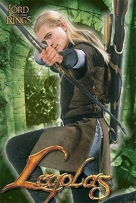 Lord Of The Rings Poster / Legolas